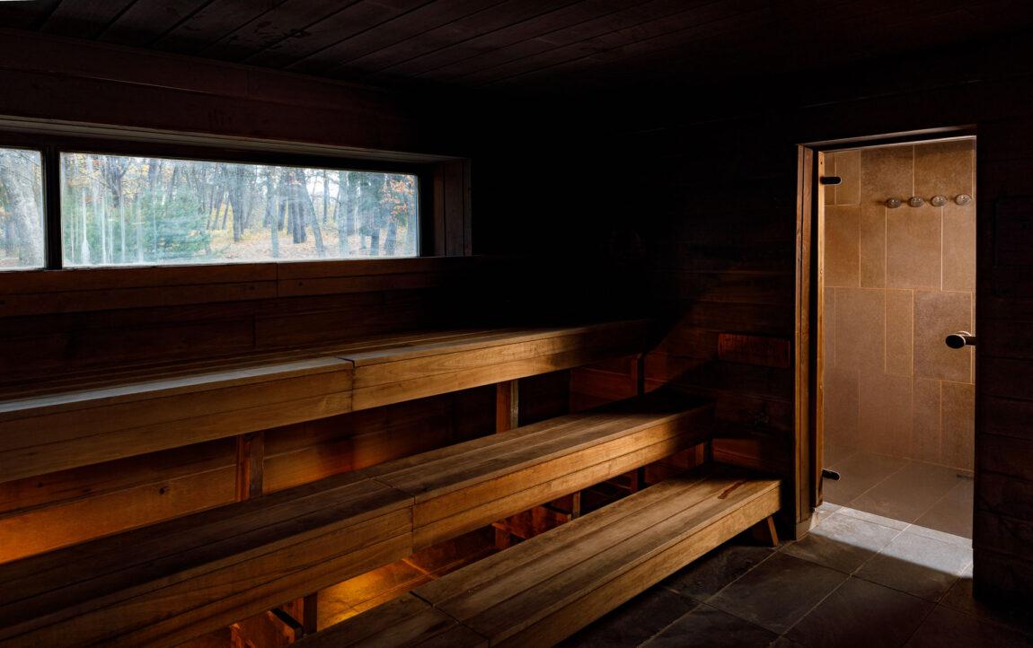 Wood Heated Outdoor Sauna