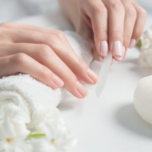 Manicure in LaSpa spa hotel