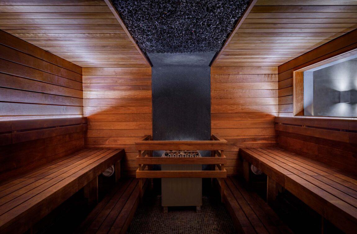 Pine cone sauna I Saunas in LaSpa hotel