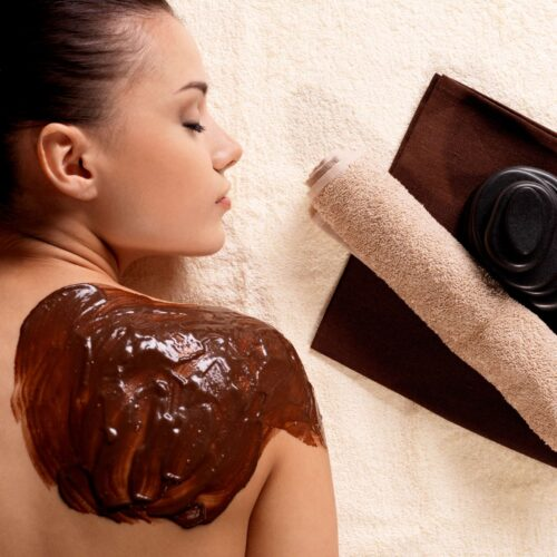 Chocolate massage in LaSpa spa hotel