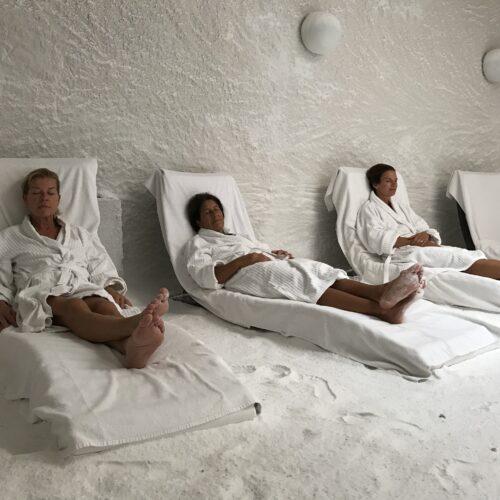 Salt therapy chamber I LaSpa spa hotel