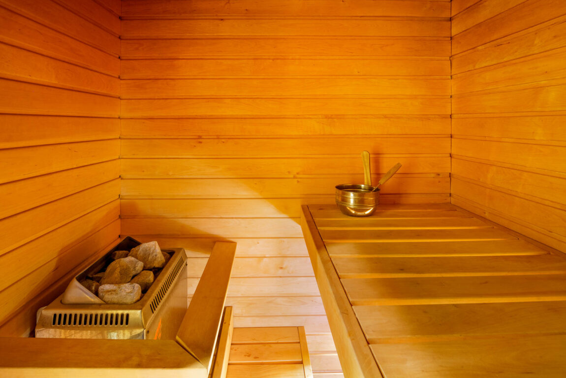 Sauna in LaSpa Suite I LaSpa spa hotel