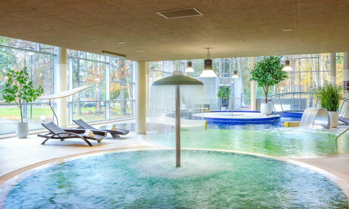 Basseinid LaSpa hotellis Laulasmaal